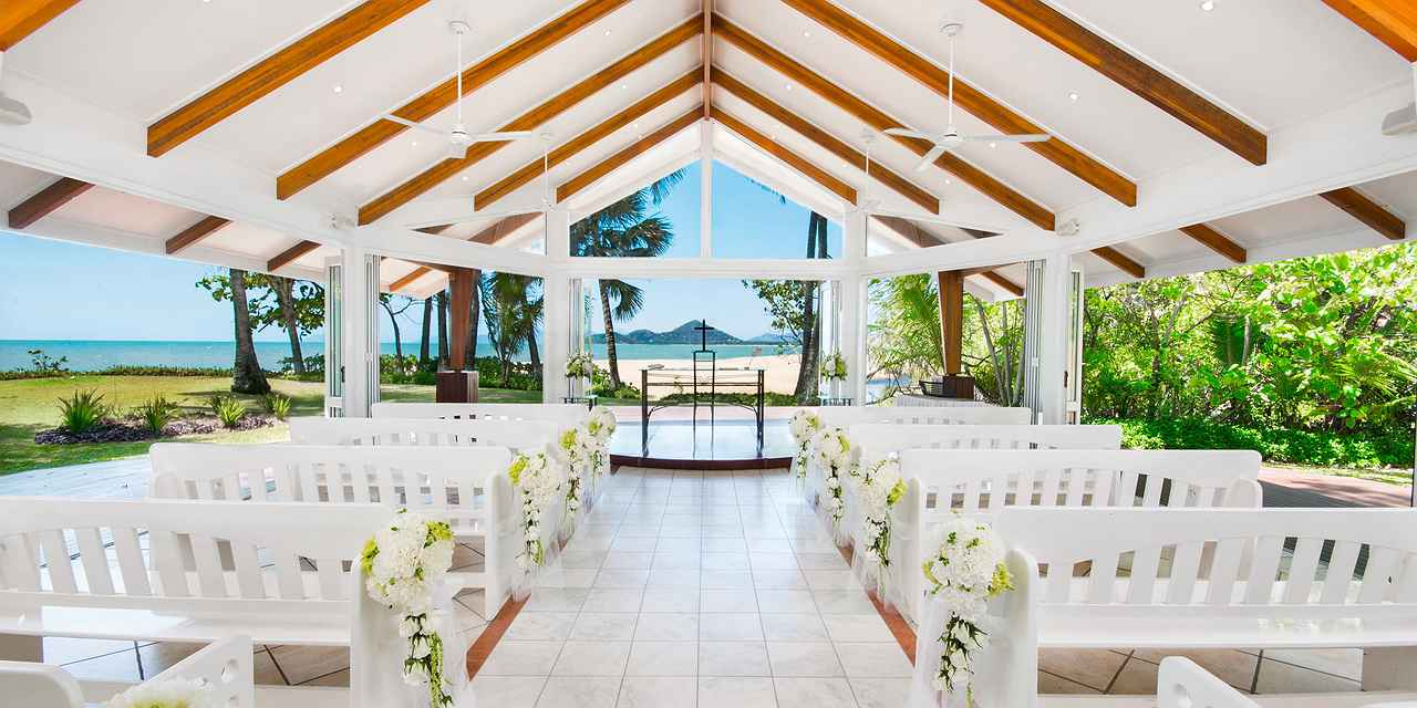 Palm Cove Wedding Venue - The Alamanda Wedding Chapel at Real Weddings