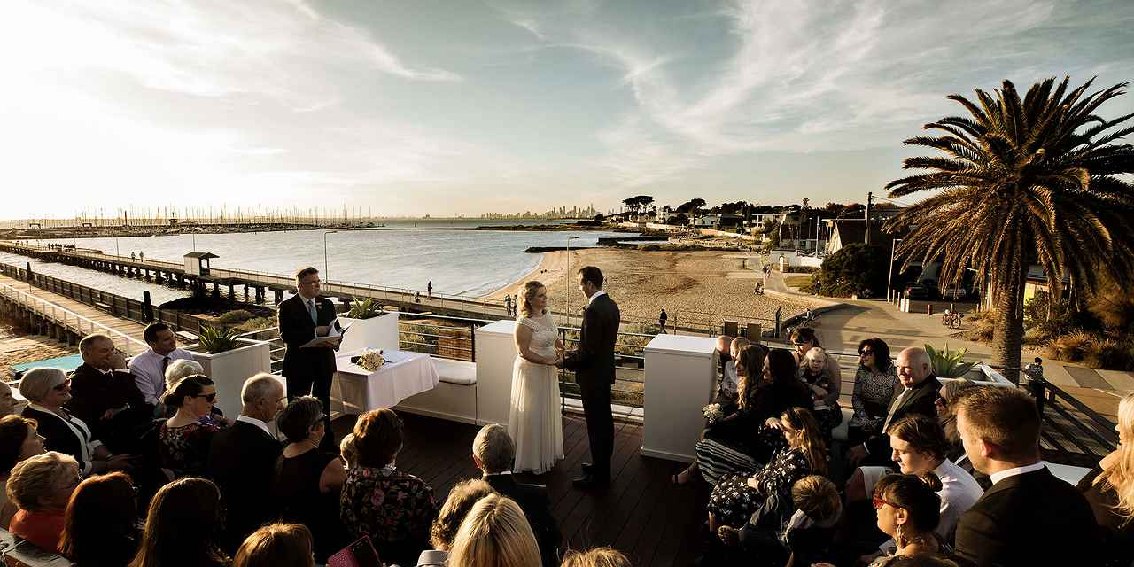The Baths Middle Brighton Weddings