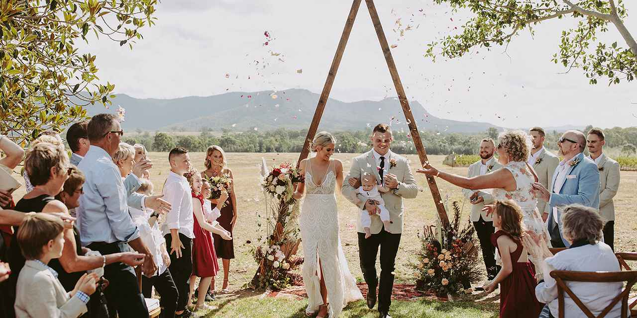 Vineyard Weddings - Bimbadgen Estate at Real Weddings