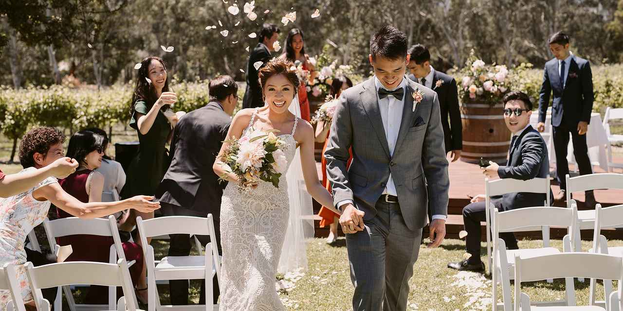 Winery Wedding Venue - Bulong Estate at Real Weddings
