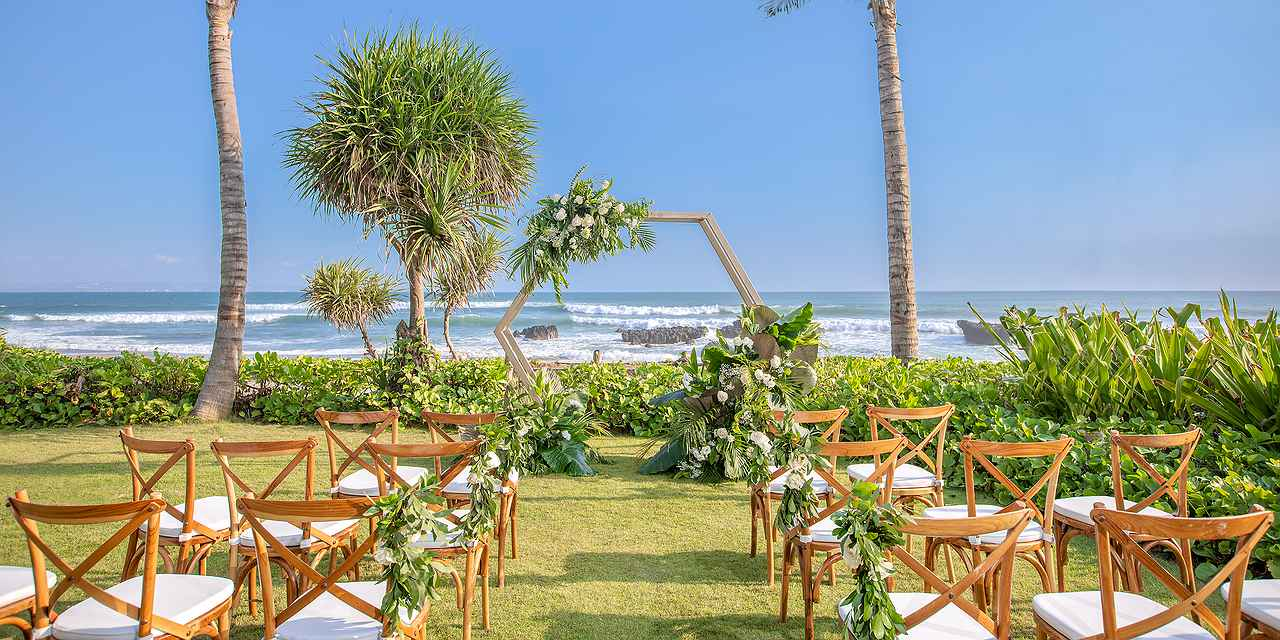 Wedding Ceremony and Reception at Beach Lawn
