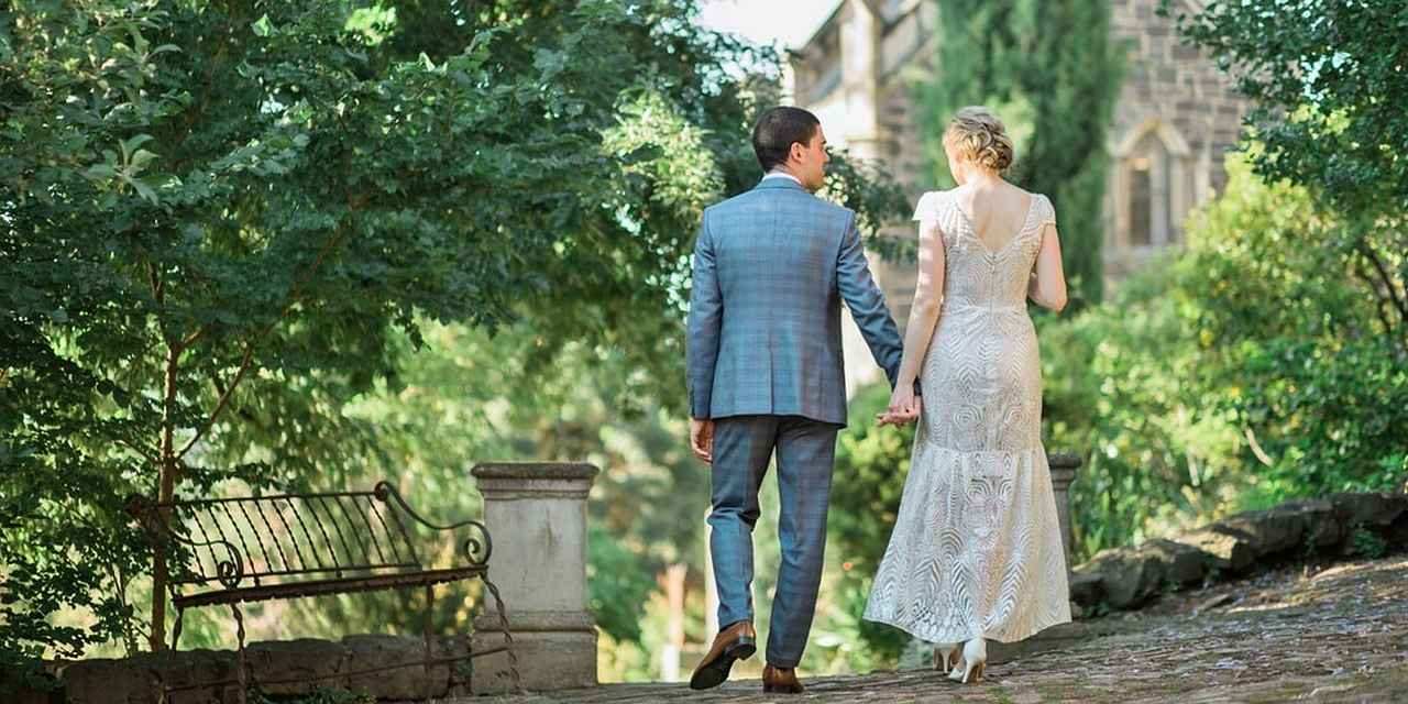 Elegant Wedding Venue - Montsalvat at Real Weddings