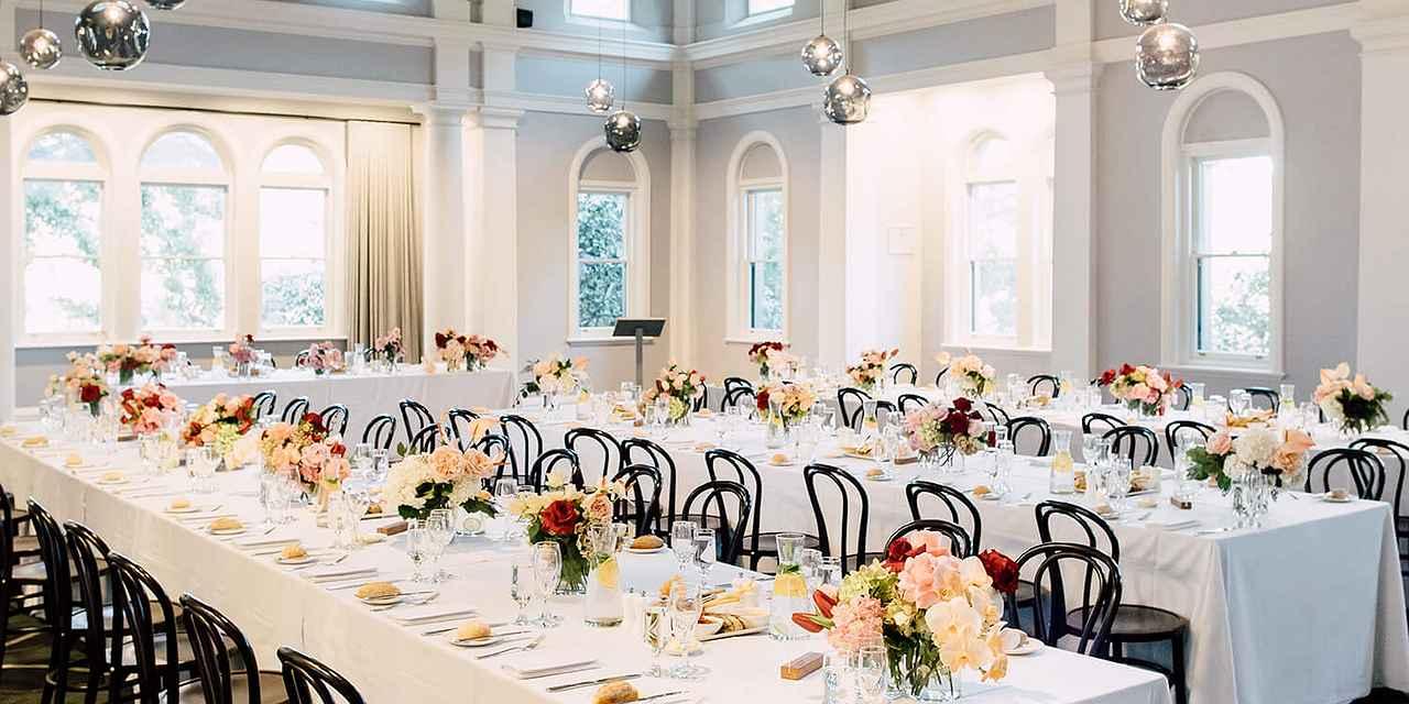 The Refectory Werribee Park Weddings