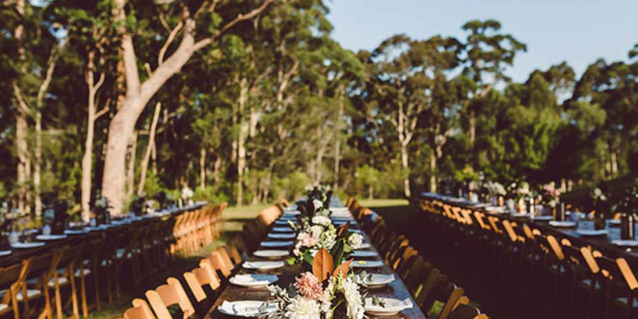 Outdoor Weddings NSW - Bawley Bush Retreat at Real Weddings