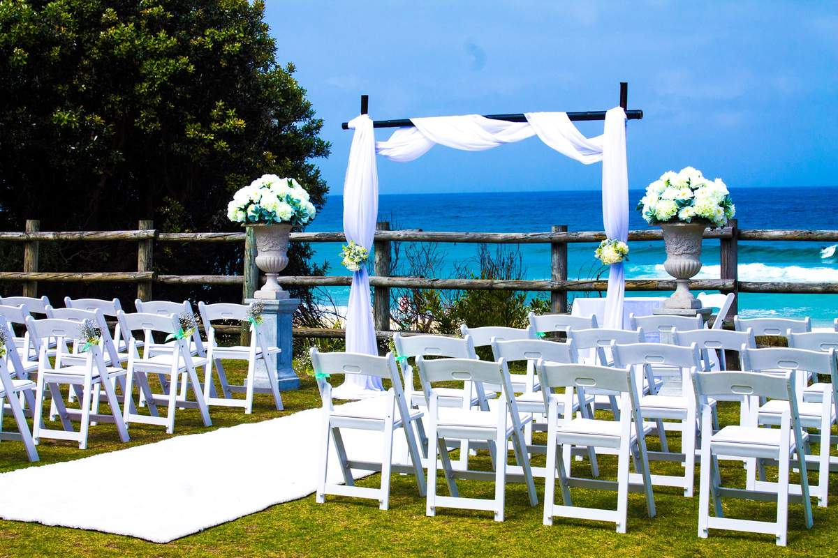 Weddings At Horizons By Top Cat Catering