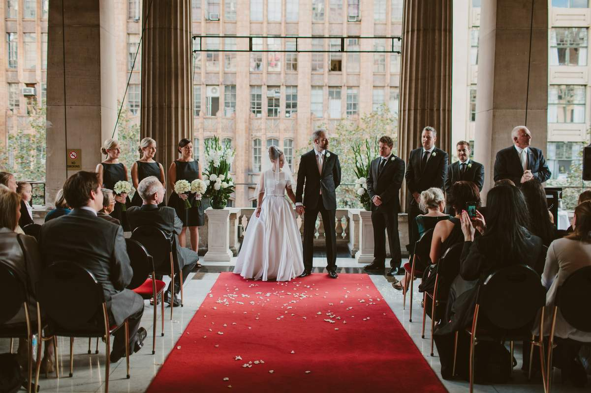Weddings At Melbourne Town Hall