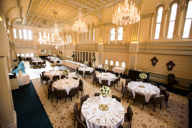 The Tea Room Qvb Wedding Venue Real Weddings Showcase