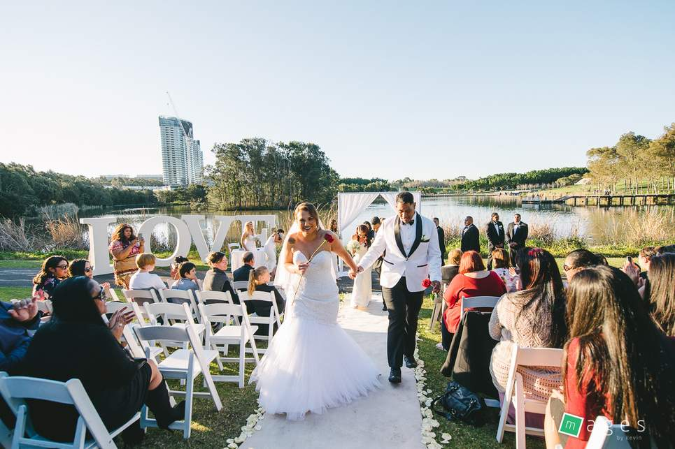 Sydney Wedding Venues Waterview In Bicentennial Park Real Weddings