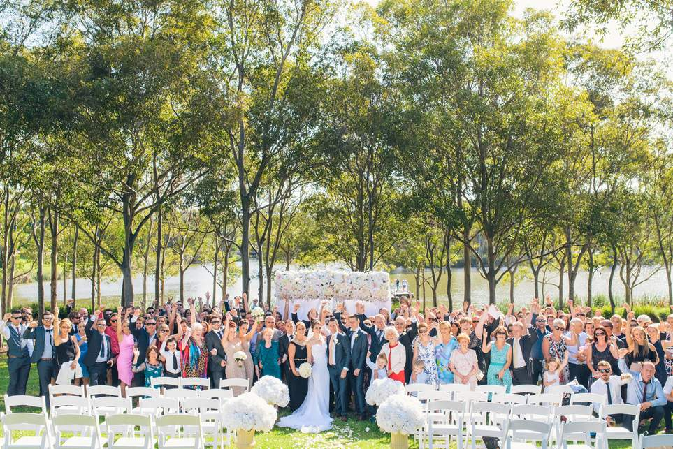 Real Weddings At Waterview In Bicentennial Park