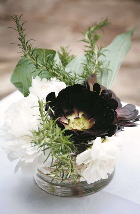 Dark Flower - Courtney and Andrew's Wedding at Boyd Baker House