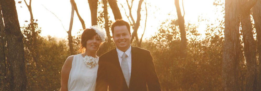 Courtney and Andrew's Wedding Photo at Boyd Baker House