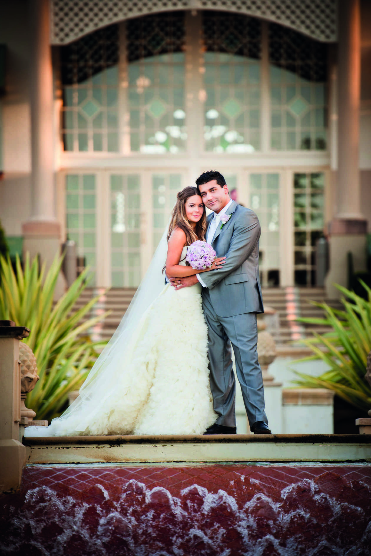 Alexandra and Sam at Hyatt Regency Sanctuary Cove
