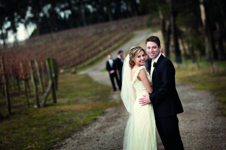 Luahn and David at Centennial Vineyards