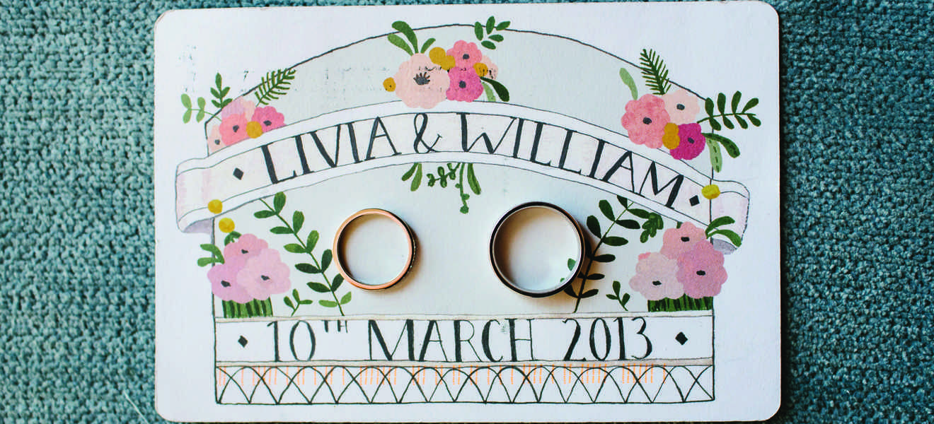 Livia and William at Ormond Hall