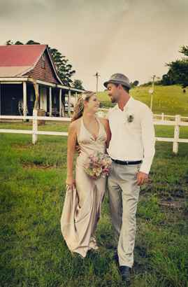 Mandi and Matt at Kenilworth Homestead