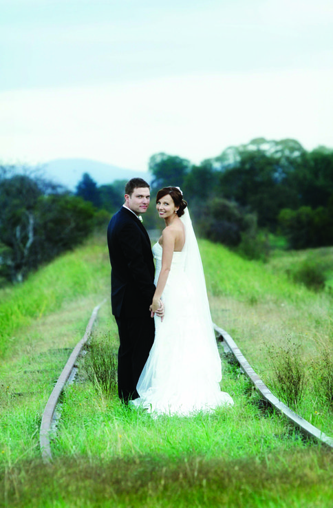 Pamela and Sean at Stones of the Yarra Valley