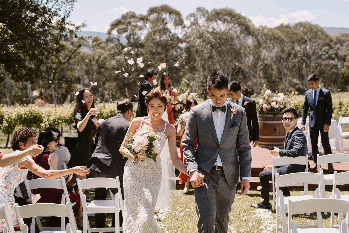 Unique Weddings at Bulong Estate Winery
