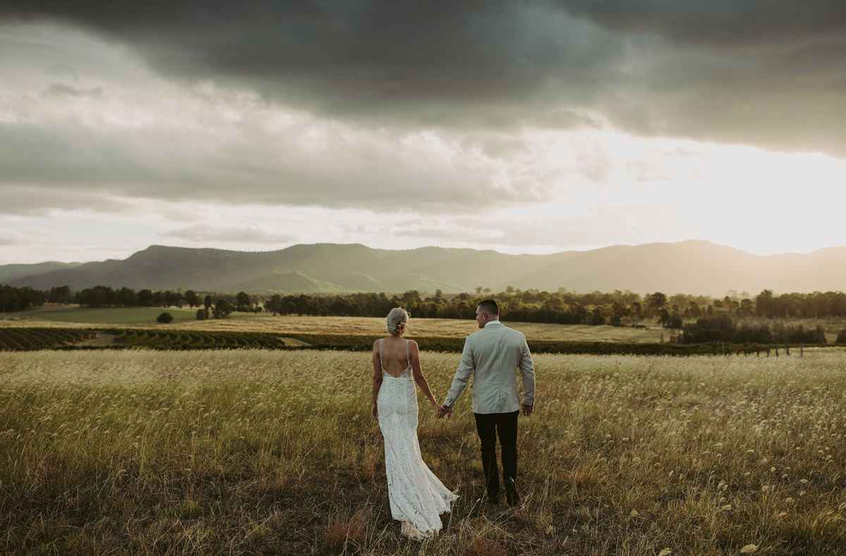 Best Winery Weddings at Bimbadgen Palmers Lane
