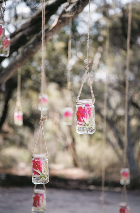 Flower in a Bottle - Courtney and Andrew's Wedding at Boyd Baker House