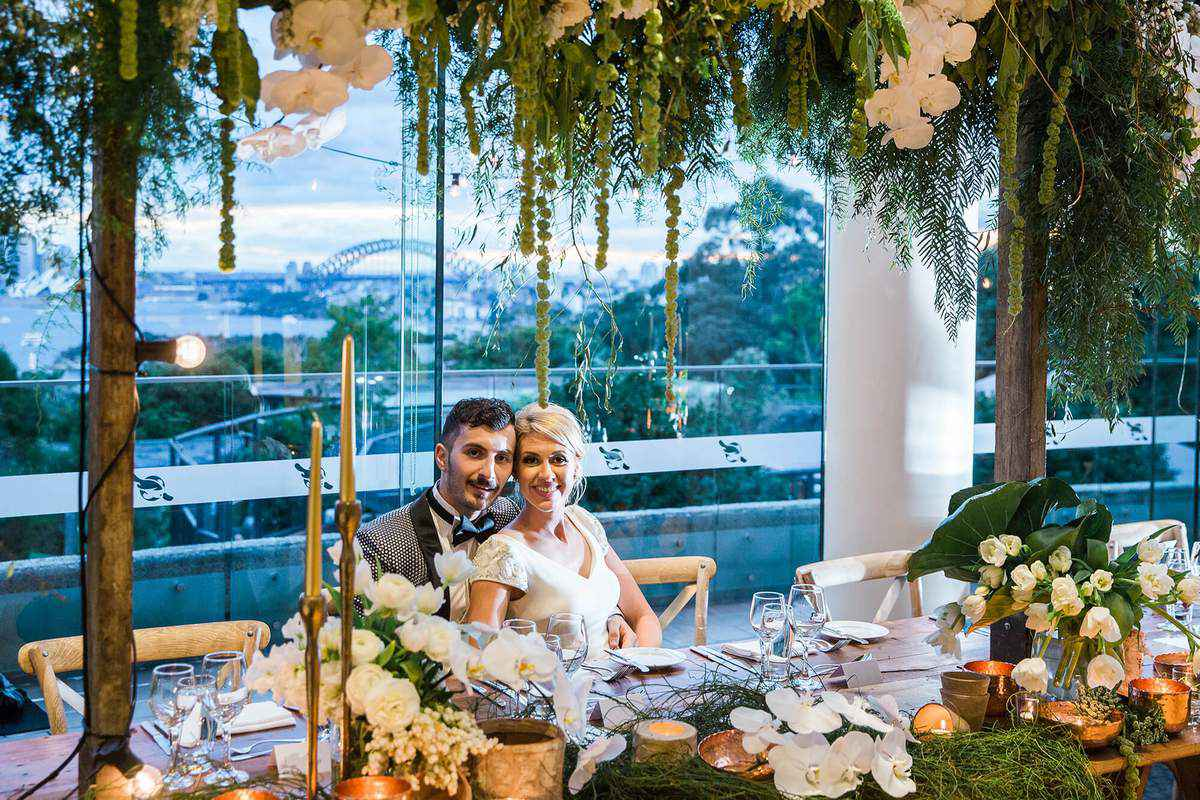 Unique Weddings at Epicure at Taronga Zoo