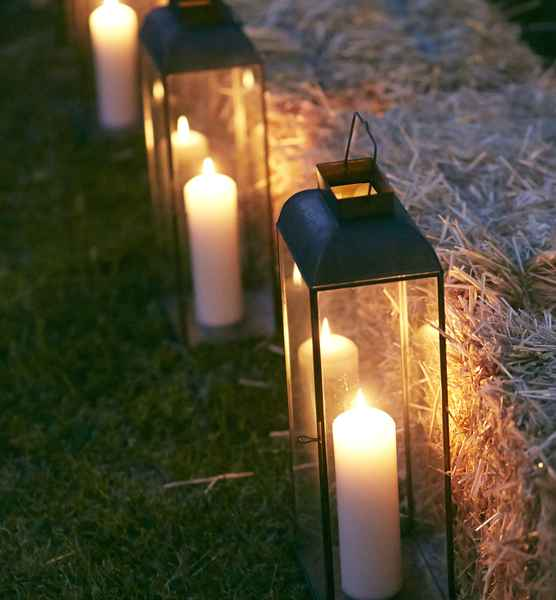 Candlelight Outdoor Wedding - Trent and Brooke's Wedding at Private Residence