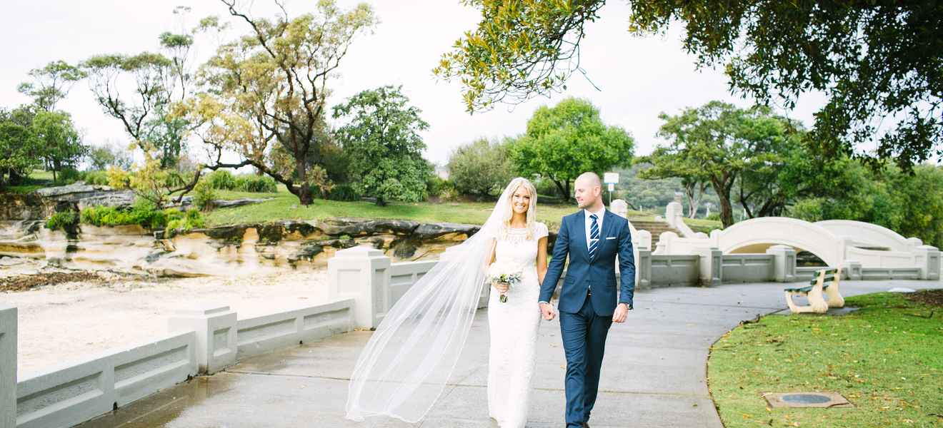 Eliza and Andrew at Bather's Pavilion