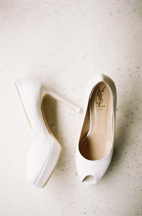 Bridal Shoes - Aimee and Christopher Wedding at Stokehouse