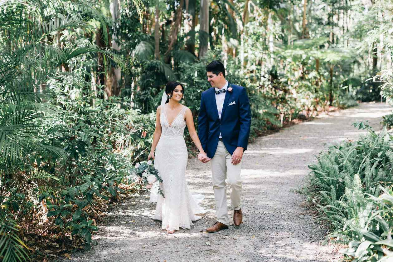 Rebecca and Sam at Bonville Golf Resort