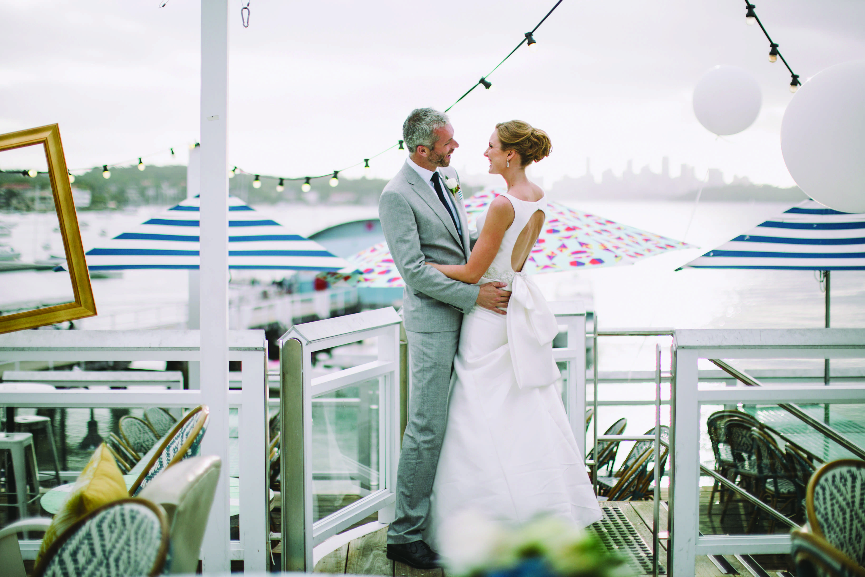 Alarna and Tim at Watsons Bay Boutique Hotel
