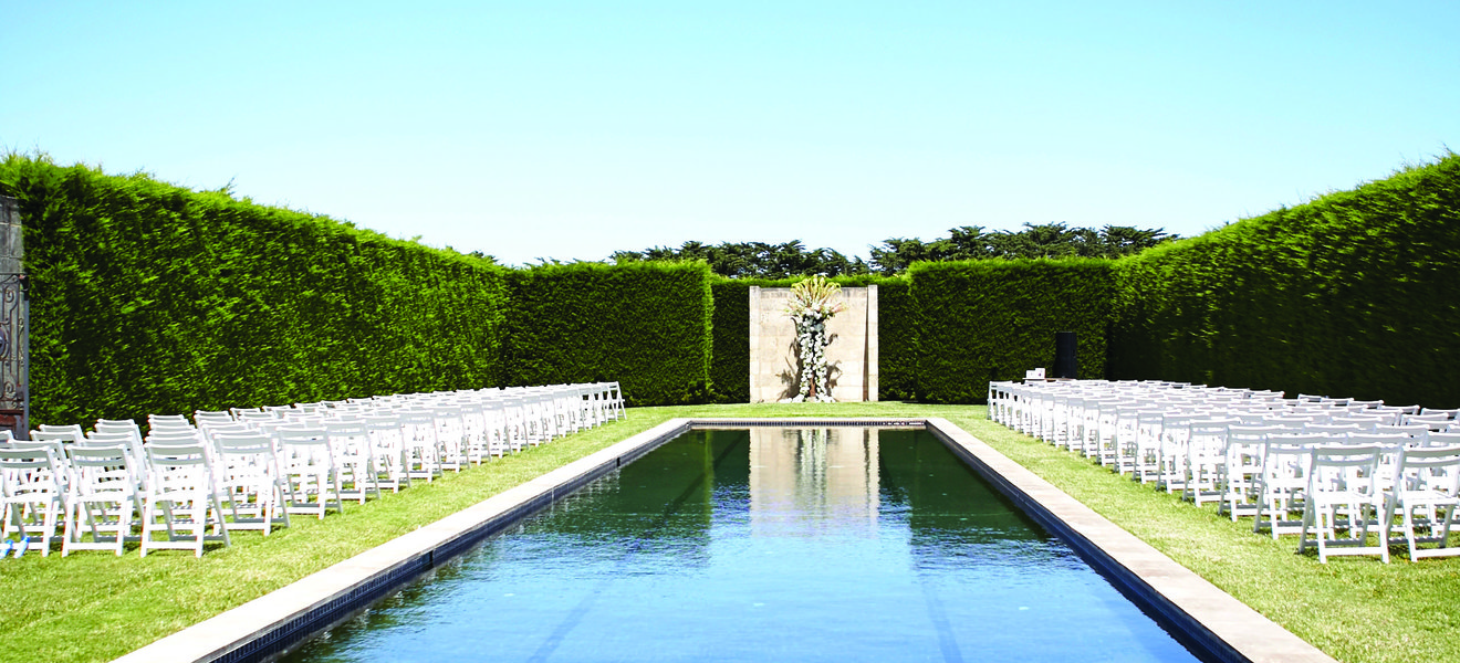 Outdoor Wedding Venue - Trent and Brooke's Wedding at Private Residence