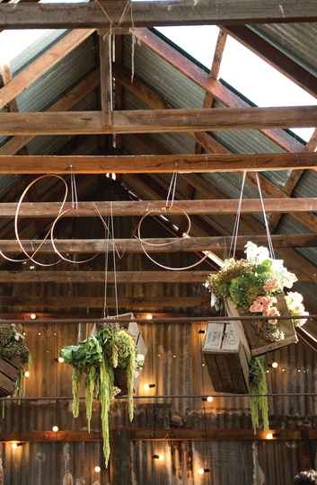 Barn Wedding Venue Roof Design - Nicole & James' Wedding at The Barn The Briars