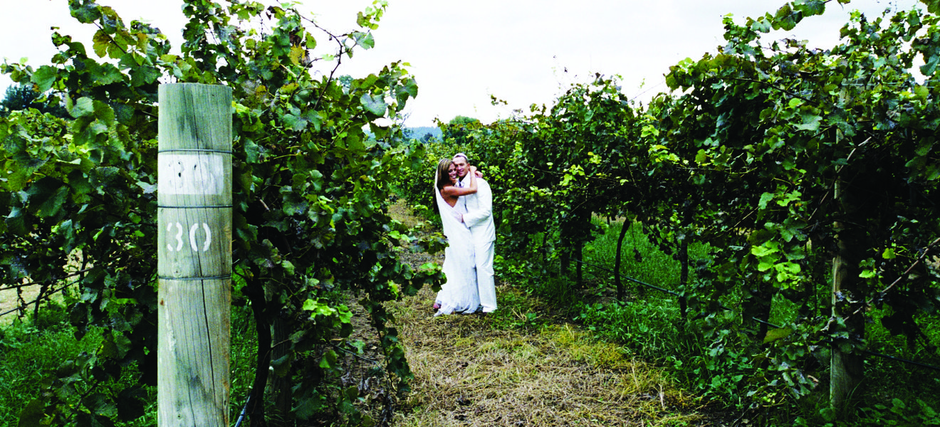 Romi and Daniel at Wyndham Estate Winery