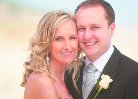 Hayley and Travis at the Portsea Hotel