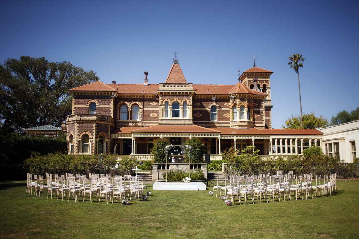 Rippon Lea House and Garden Weddings