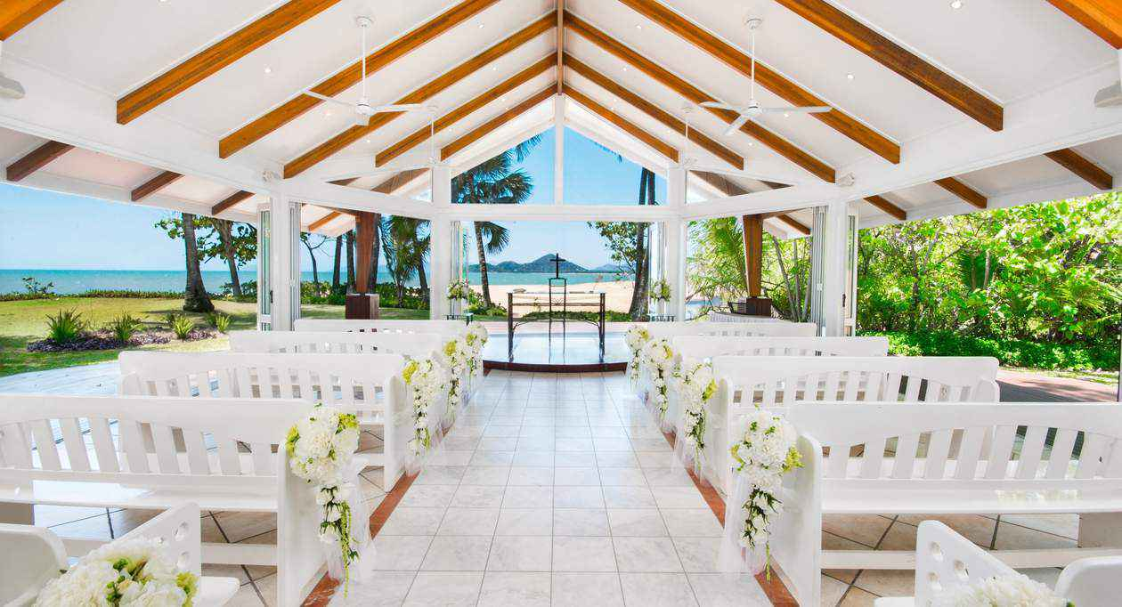 The Alamanda Great Barrier Reef Wedding Chapel in Queensland