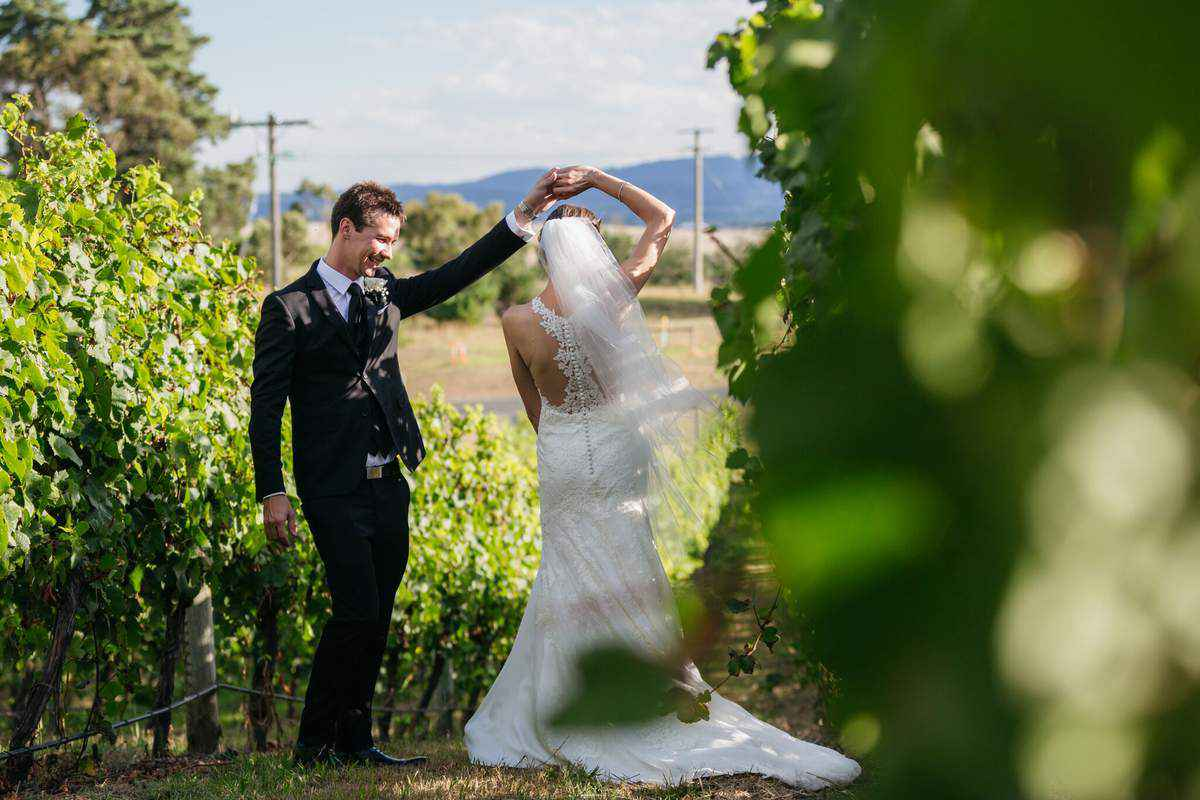 Unique Weddings at Balgownie Estate Vineyard