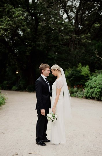 Jess and Michael at RipponLea Estate