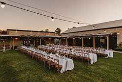 Outdoor Wedding Venue - Bimbadgen Estate at Real Weddings