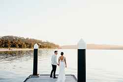 Waterfront Weddings Sydney - The Boathouse Palm Beach