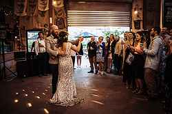Newlyweds Dancing - Commonfolk at Real Weddings