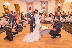Wedding Reception with Dance Floor - The Cropley House at Real Weddings