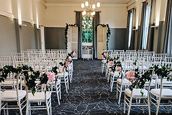 Elegant Indoor Wedding Venue - The Cropley House at Real Weddings