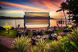Elegant Beach Wedding Ceremony - Daydream Island Resort at Real Weddings