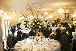 Indoor Wedding Reception - Dunbar House at Real Weddings