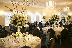 Elegant Indoor Wedding Reception Sydney - Dunbar House at Real Weddings