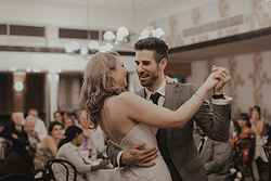 Newlyweds Dancing - Hotel Kurrajong at Real Weddings