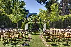 Outdoor Garden Wedding Venue - Hotel Kurrajong at Real Weddings