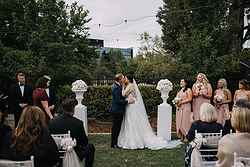 Garden Wedding Ceremony Canberra - Hotel Kurrajong at Real Weddings