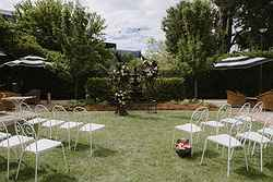 Hotel Kurrajong Garden Weddings at Real Weddings