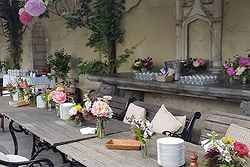Elegant Garden Weddings - Montsalvat at Real Weddings